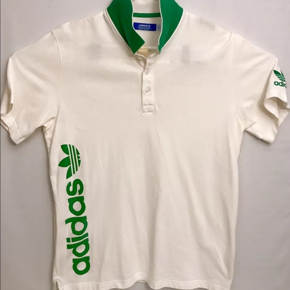 adidas vintage polo shirt